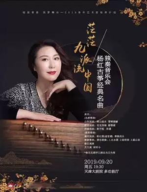2019茫茫九派流中国·杨红古筝经典名曲独奏音乐会-天津站