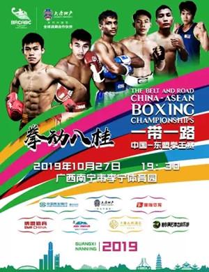 """2019""""一带一路""""中国-东盟拳王赛决赛-南宁站"""