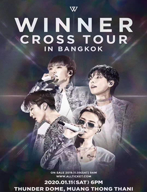 2020WINNER曼谷演唱会