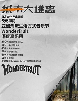 2019芭堤雅Wonderfruit音乐节