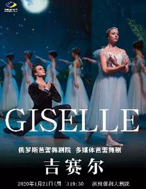 2020芭蕾舞剧吉赛尔滨州站