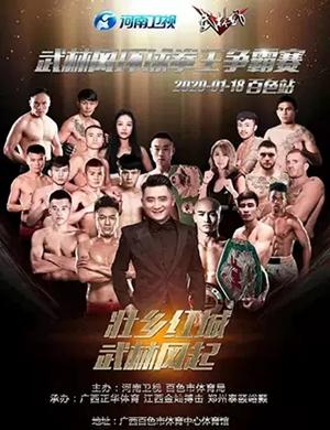 2020武林风环球拳王争霸赛百色站