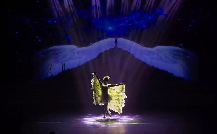 """2021年""""快乐童年·童话相伴 """"经典话剧展演--童话剧《丑小鸭》-郑州站"""