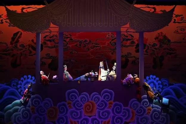 2021大型神话木偶剧《八仙过海》-北京站