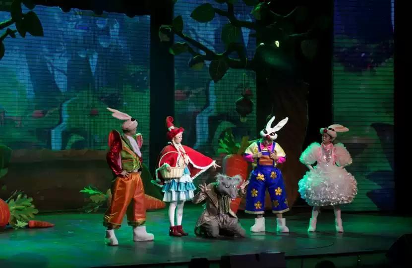 2021世界经典儿童童话剧《小红帽与魔法森林》-杭州站