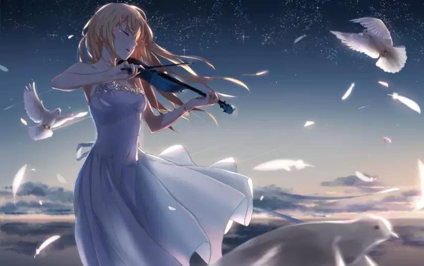 """2021《四月是你的谎言》-""""公生""""与""""薰""""的钢琴小提琴唯美经典音乐集-南京站"""